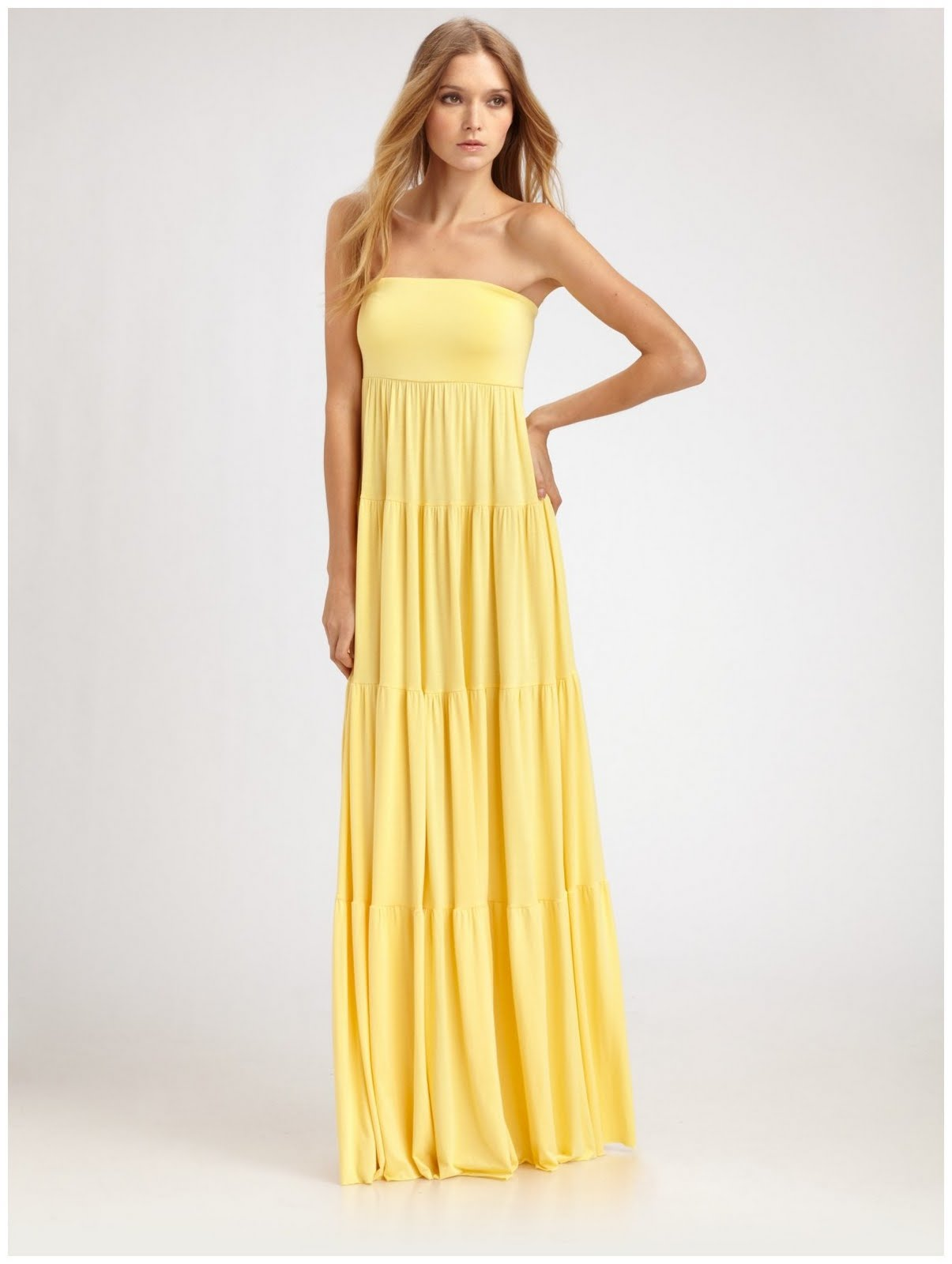 Maxi dresses 2011 maxi dresses maxi dresses for weddings for Yellow maxi dress for wedding