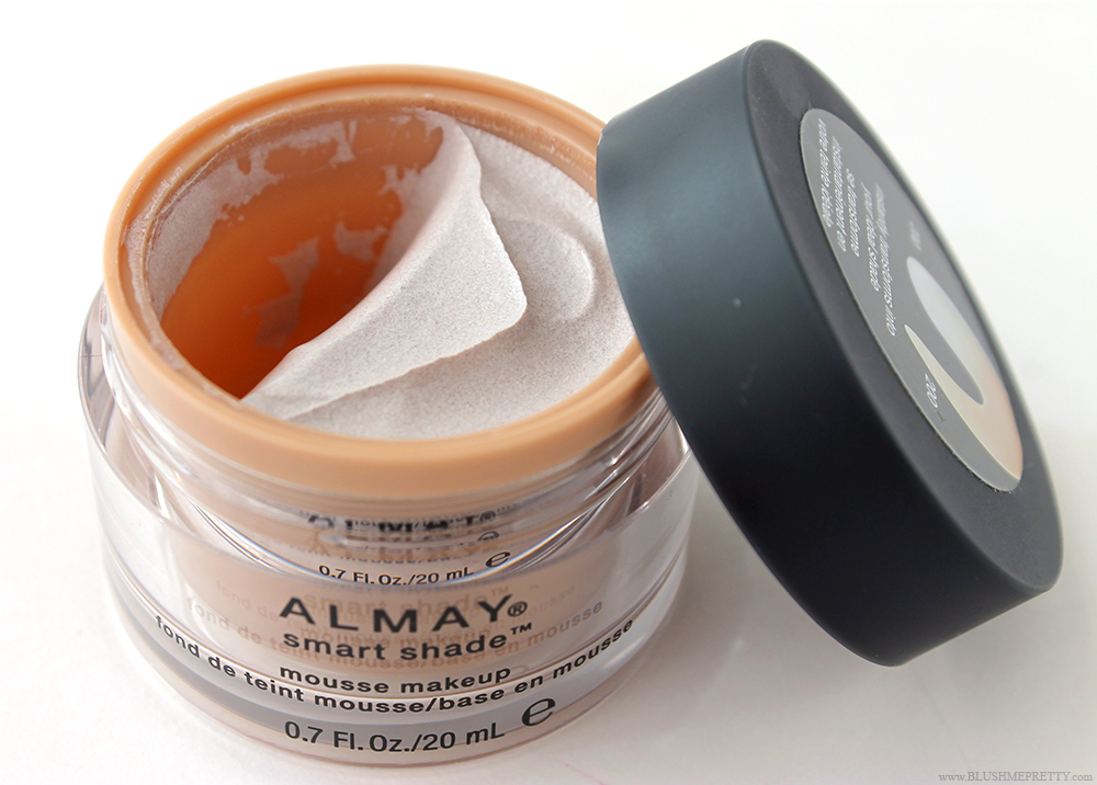 Almay Smart Shade Mousse Foundation Makeup Review Swatch