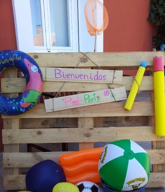 Mimosorum 7 ideas para una fiesta en la piscina pool for Piscinas infantiles