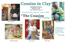 Cousins in Clay - A Show and Sale of Contemporary Pottery