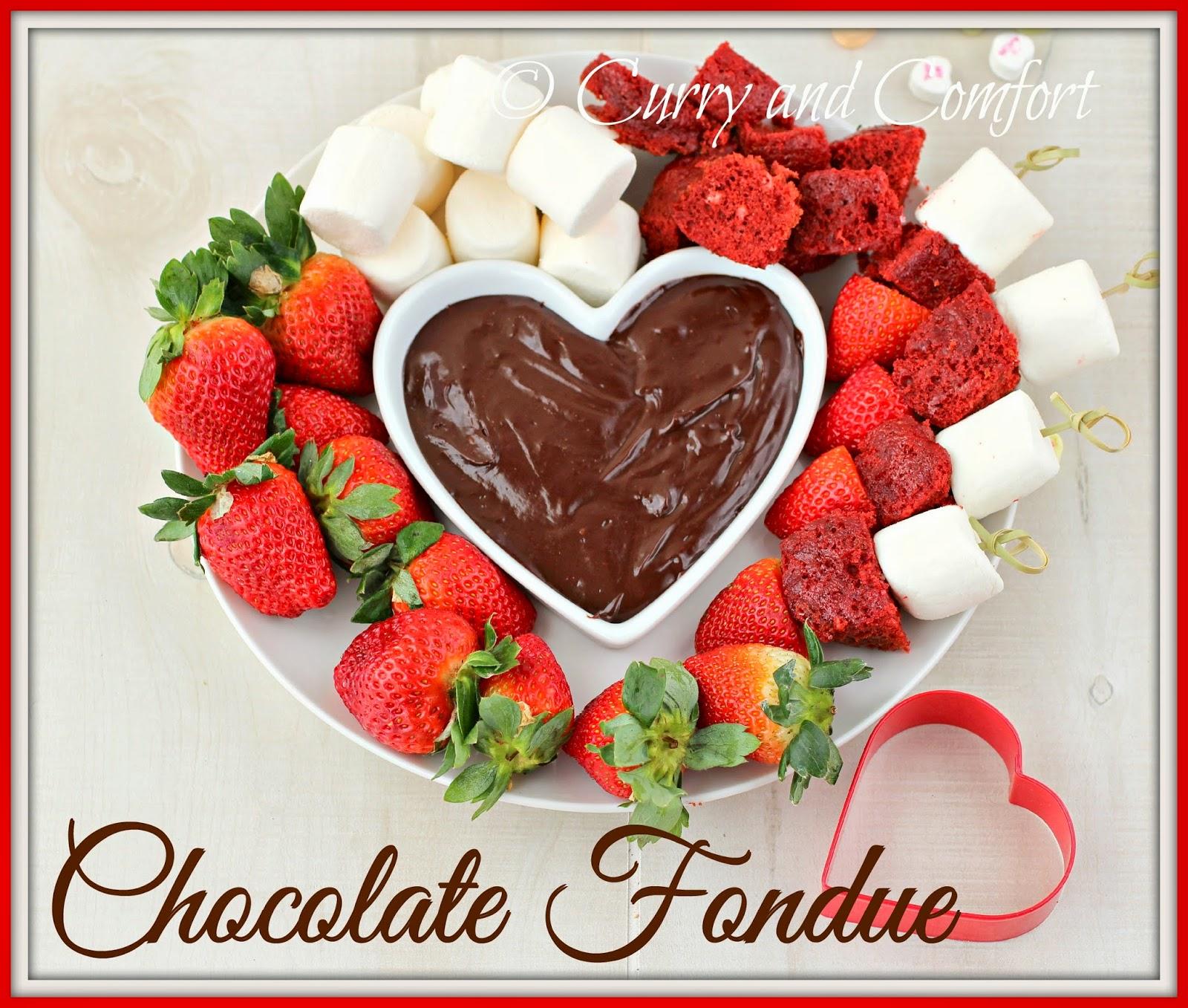 Kitchen Simmer: Valentine's Chocolate Fondue