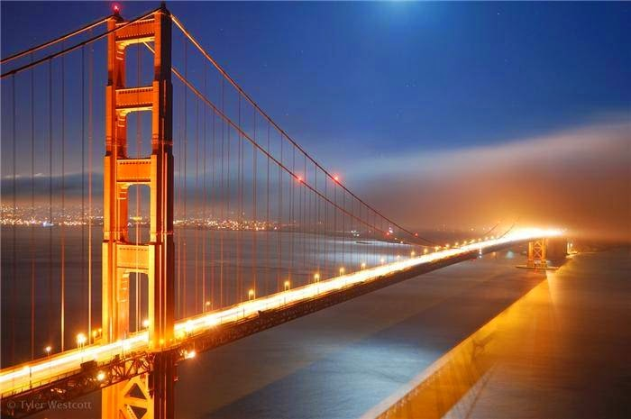 Interesting facts about the Golden Gate Bridge
