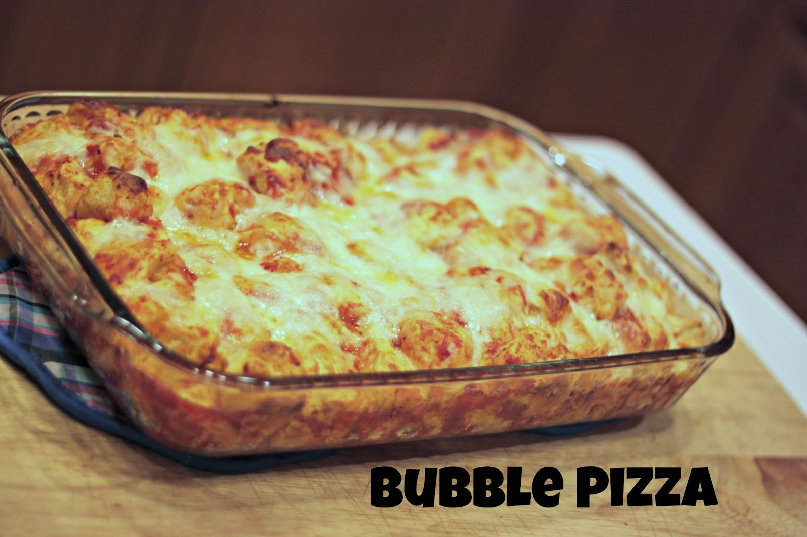 For the Love of Naps: What's for Dinner Wednesday: Bubble Pizza