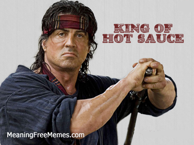 Stallone King of Hot Sauce