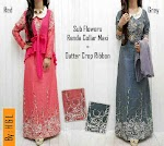 Gamis Denim Rompi Jersey SOLD OUT