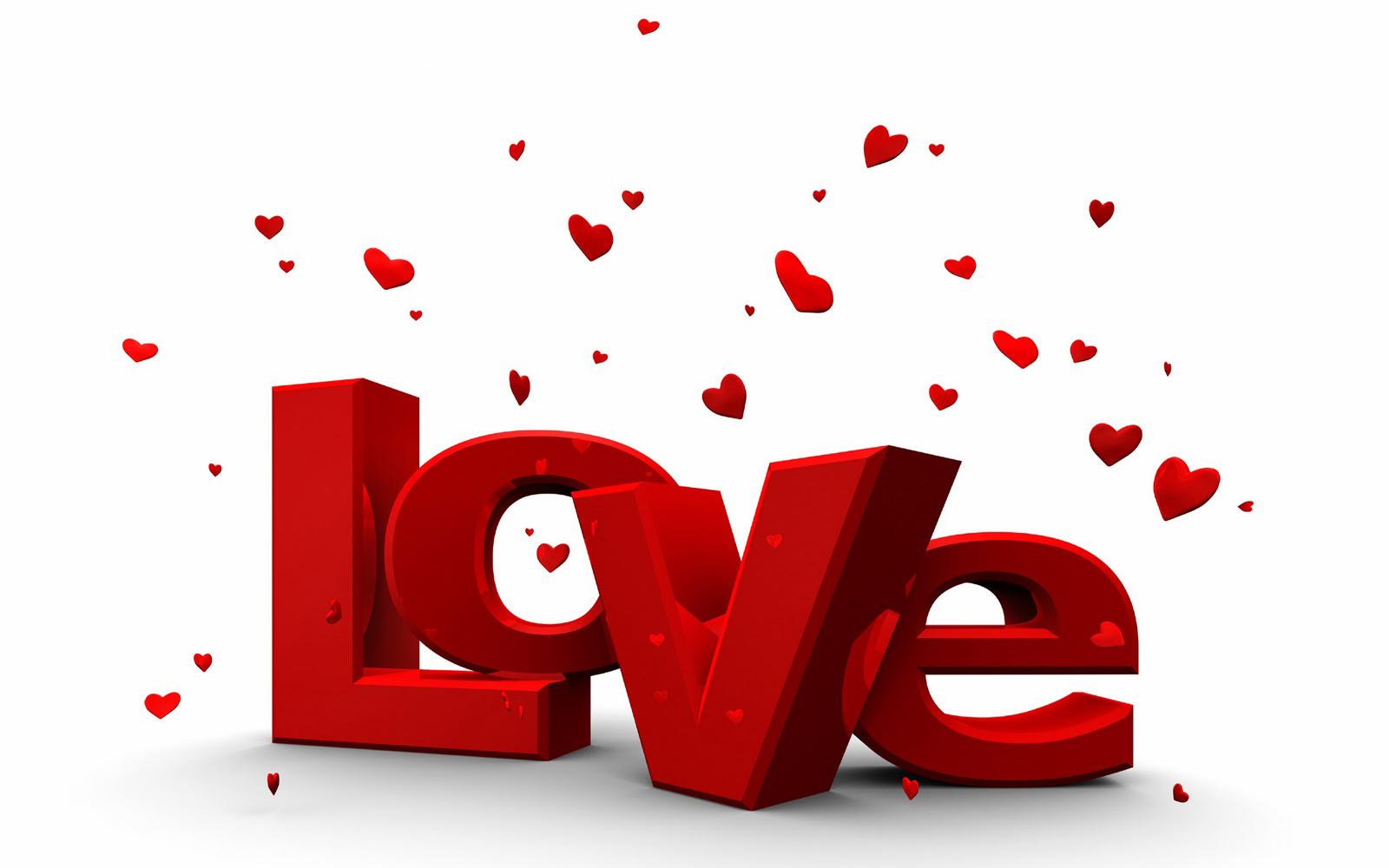 Wallpaper Creative Love Text Wallpapers
