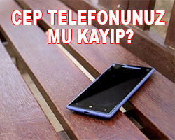 kayıp cep telefonu