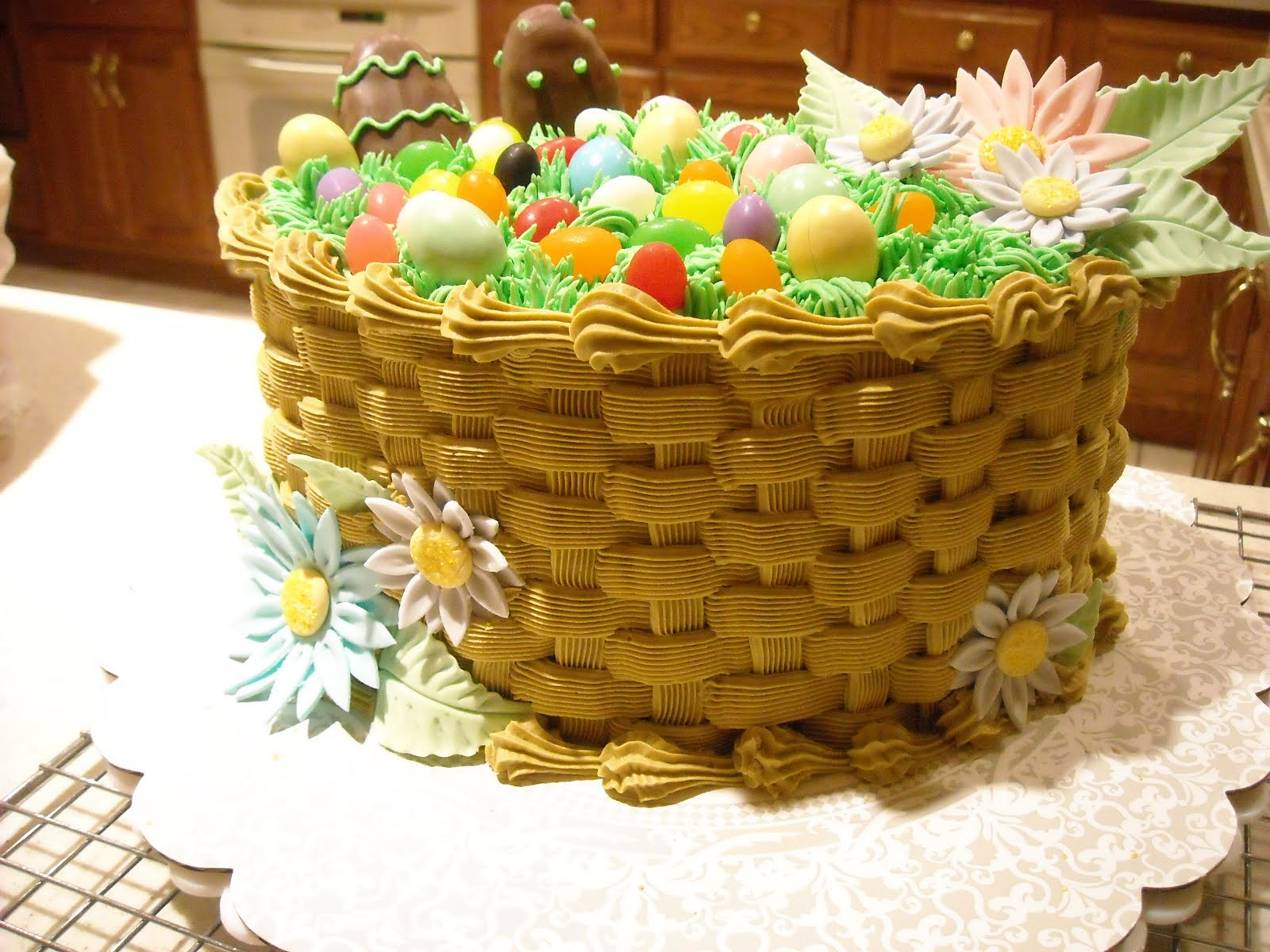 Andreas cakes easter basket cake easter basket cake negle Gallery