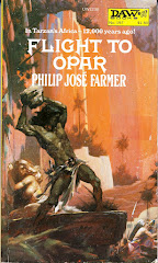 'Flight from Opar' by Philip Jose Farmer