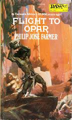 'Flight from Opar' by Philip Jose Farmer