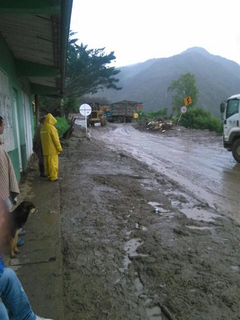 Troncal Central del Norte sigue con cierre total en Chitagá