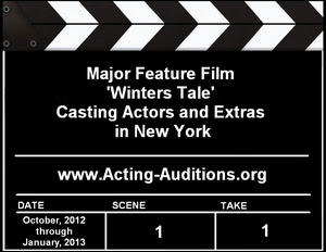 Winter's Tale Auditions and Casting Information
