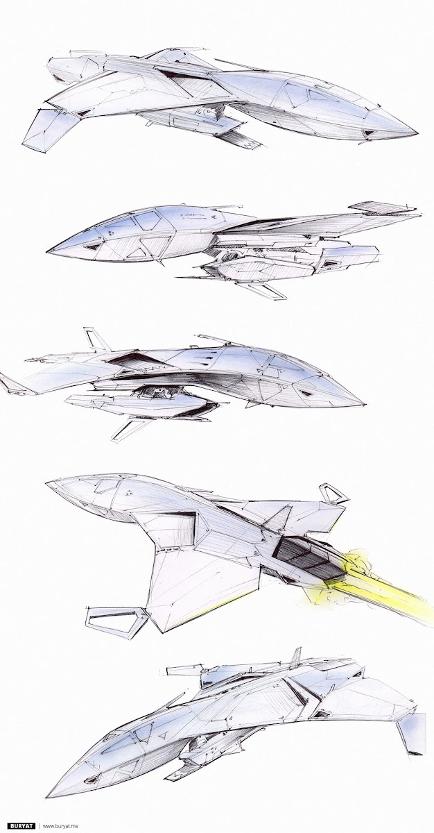 Bat, high-speed stealth vessel