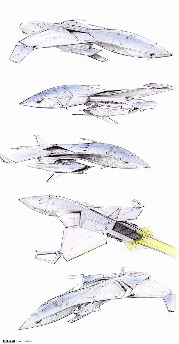 Bat, high-speed stealth vessel