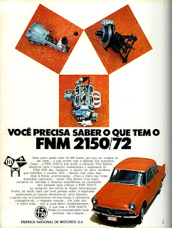 propaganda FNM 2150 - 1972;  1972; brazilian advertising cars in the 70s; os anos 70; história da década de 70; Brazil in the 70s; propaganda carros anos 70; Oswaldo Hernandez;