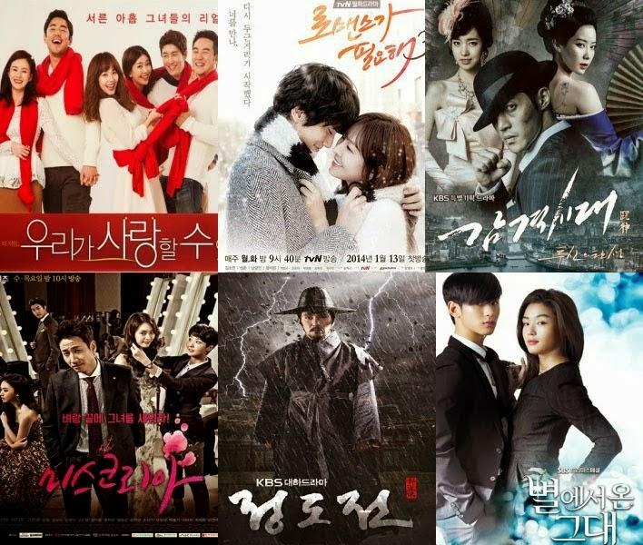 Update Daftar Film Drama Korea Paling Terbaru 2014