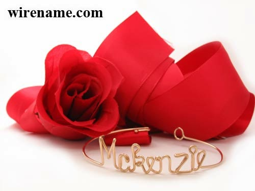Mckenzie Bracelet in gold-filled wire