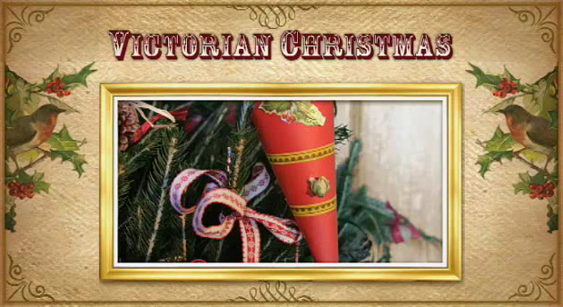victorian christmas decorations