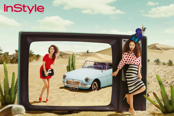 Kim Tae Hee - InStyle Magazine March Issue 2014