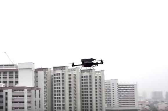 Singapura Akan Menggunakan Drone Untuk Mengirim Paket Pos