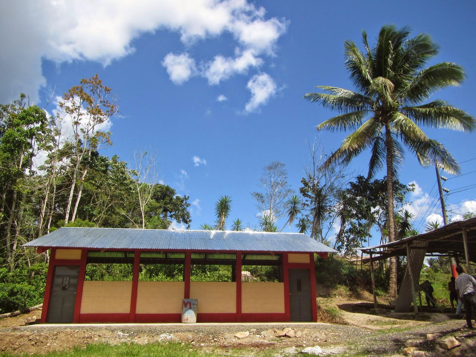 La nouvelle école de Secoyob avril 2015