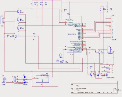 circuit diagram of water level controller