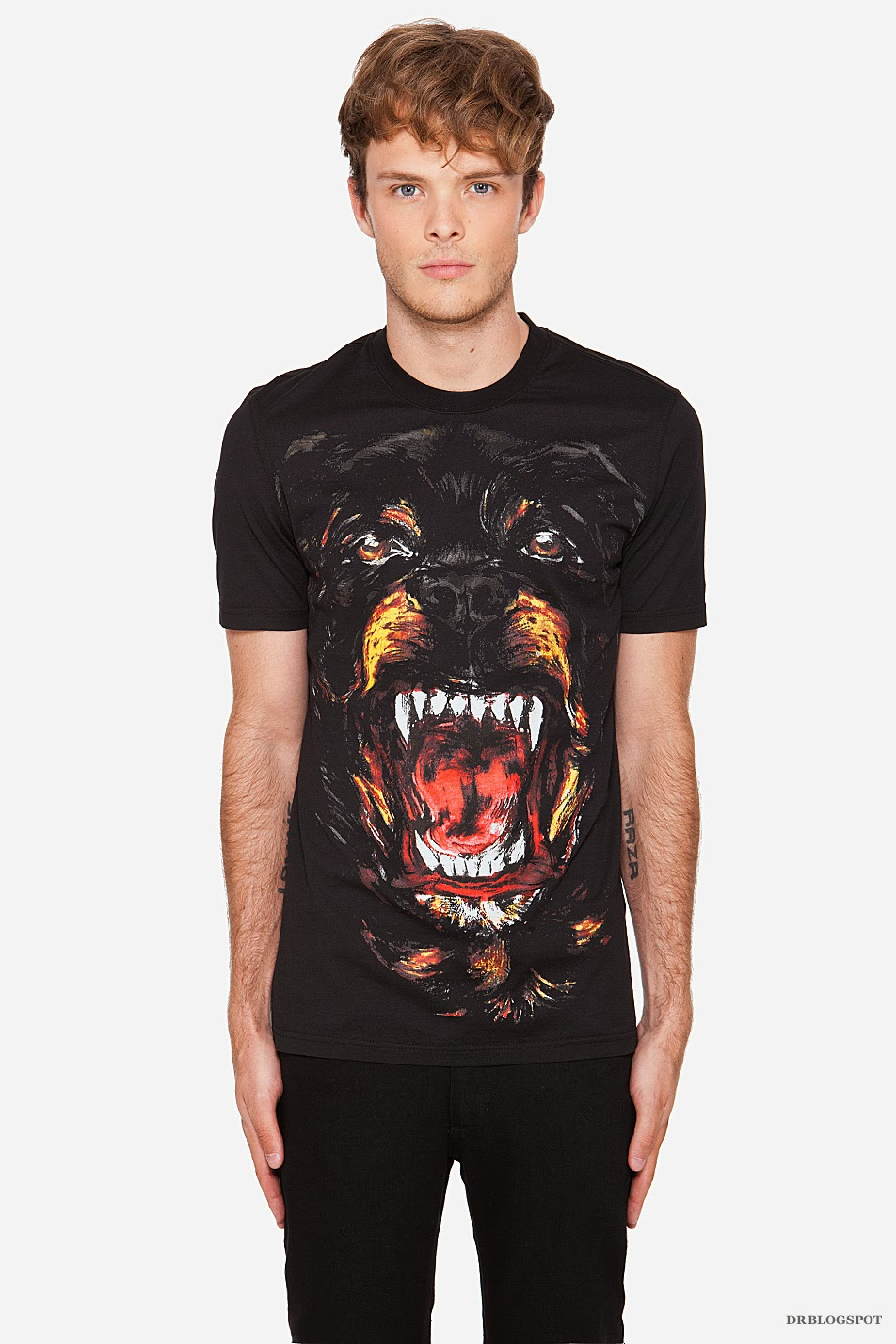Givenchy Rottweiler Print Cuban Fit T Shirt: givenchy t shirt price