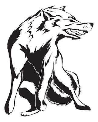 Wolf Tribal Tattoos Designs 05