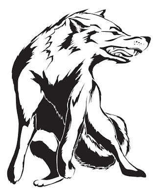Wolf Tribal Tattoos Designs 05