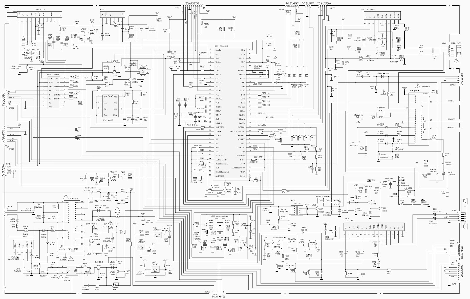 Hisense Tf2906du A H3498 Changhong Ch 16 Schematic Diagram Wiring Ac Click On Circuit To Magnify