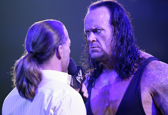 images of undertaker. Shawn Michaels Undertaker