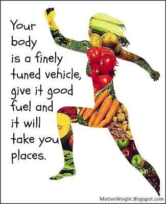 motiveweight your body is a finely tuned vehicle