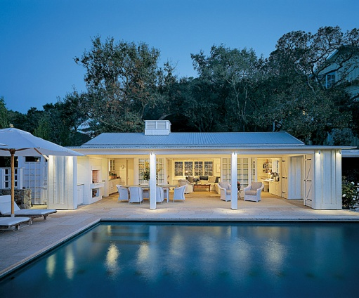 Tuesday Inspiration: Pool Houses, Cabañas And Pavilions