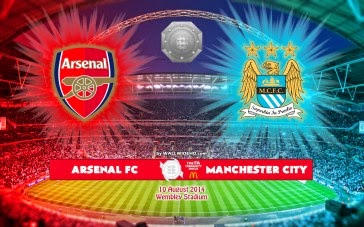 ARSENAL VS MAN CITY PERISAI KOMUNITI 2014 DI ASTRO