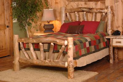 Muebles para dormitorios y camas r sticas un encanto - Muebles rusticos de campo ...