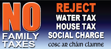 No Family Tax: Household Charges, Universal Social Charges, Water Charges, Septic Tank Scheme... Air? Sunshine?