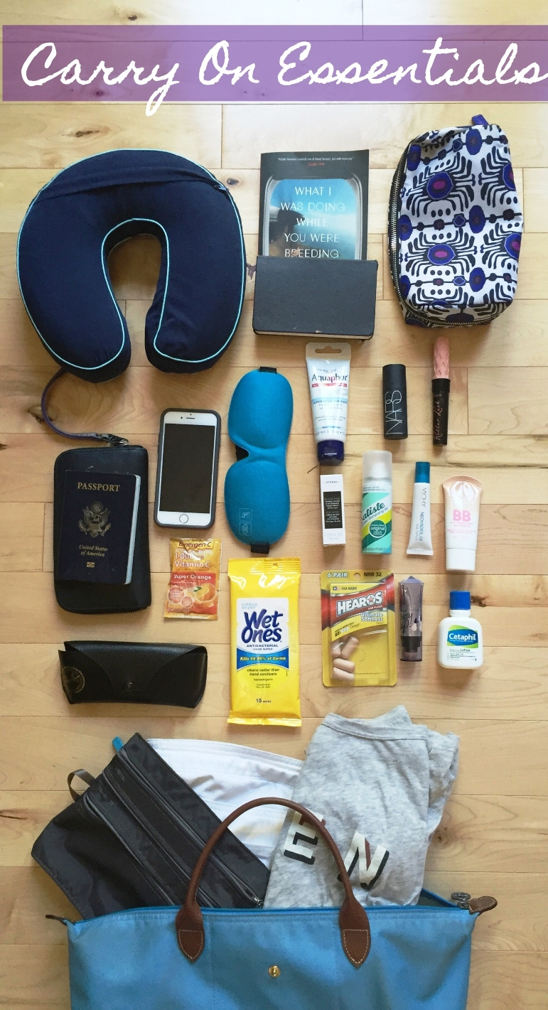 Travel Tuesday Carry On Essentials Always Erin