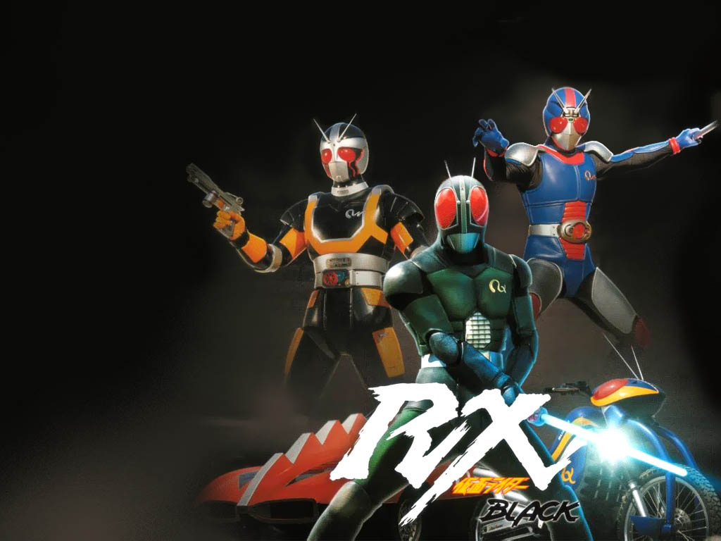 Kumpulan Download Gratis: [Series] Kamen Rider Black RX (