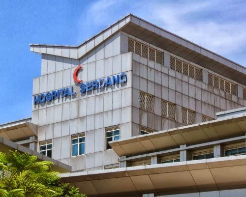 Terkini - Siling Hospital Serdang Runtuh Lagi