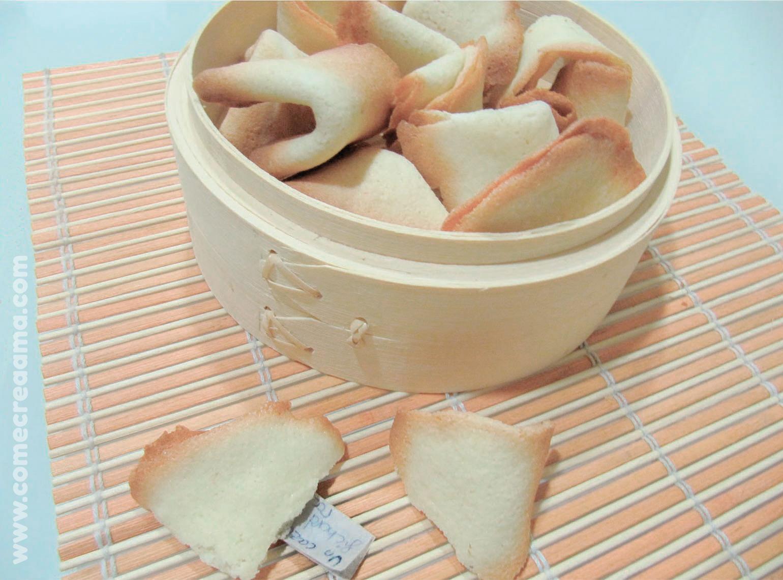 como hacer galletas de la fortuna chinas