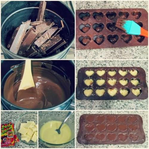 Paso a paso receta bombones de chocolate con Peta Zetas