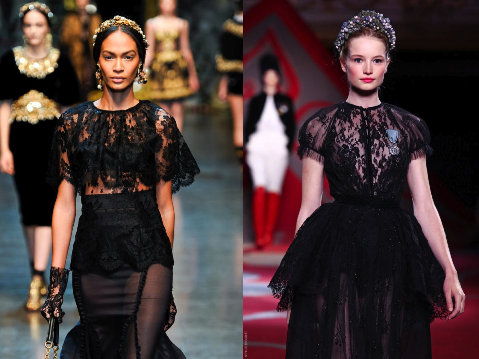 7a6c3e27a3 INSPIRATION Dolce Gabbana FW2012  13... Ulyana Sergeenko Haute Couture  FW2012  13