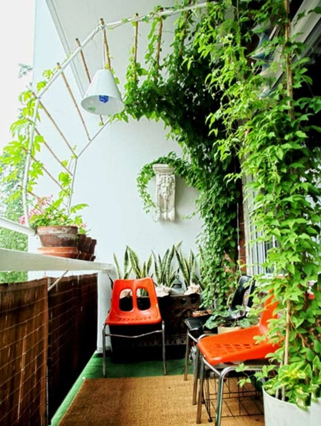 Balcony garden ideas and photos.