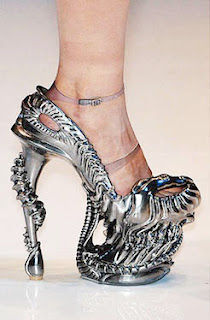 zapato alien tacon mujer