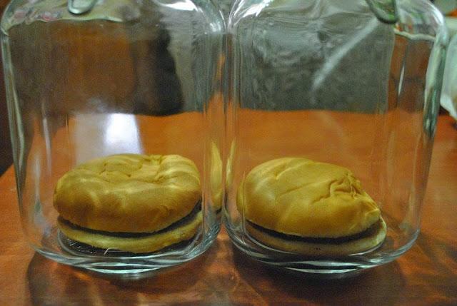 Hamburgers Goody's & ΜcDonalds