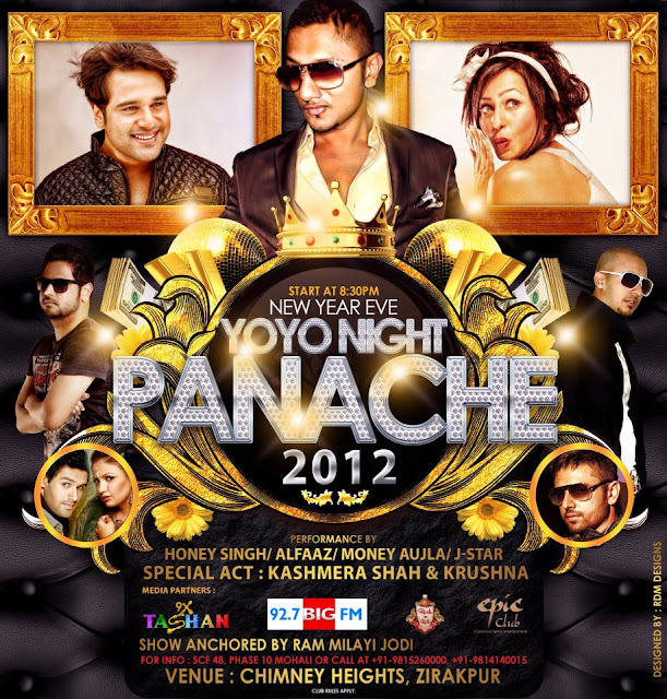 Yo! Yo! Honey Singh Night Panache - 31st Dec. 2011