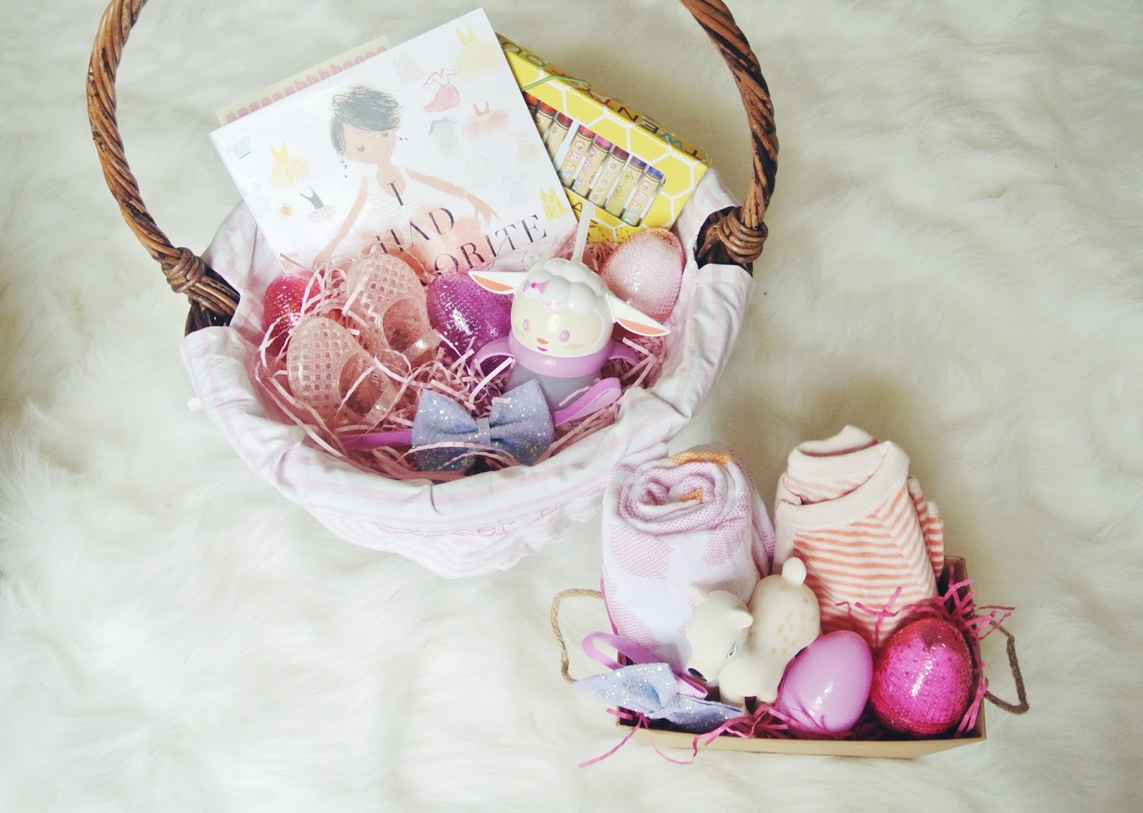 Easter basket goodies garvinandco what are you putting in your babes easter baskets this year hoping mine is full of donuts negle Choice Image