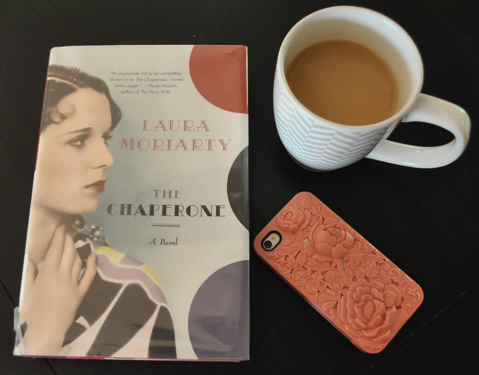book, coffee, iphone