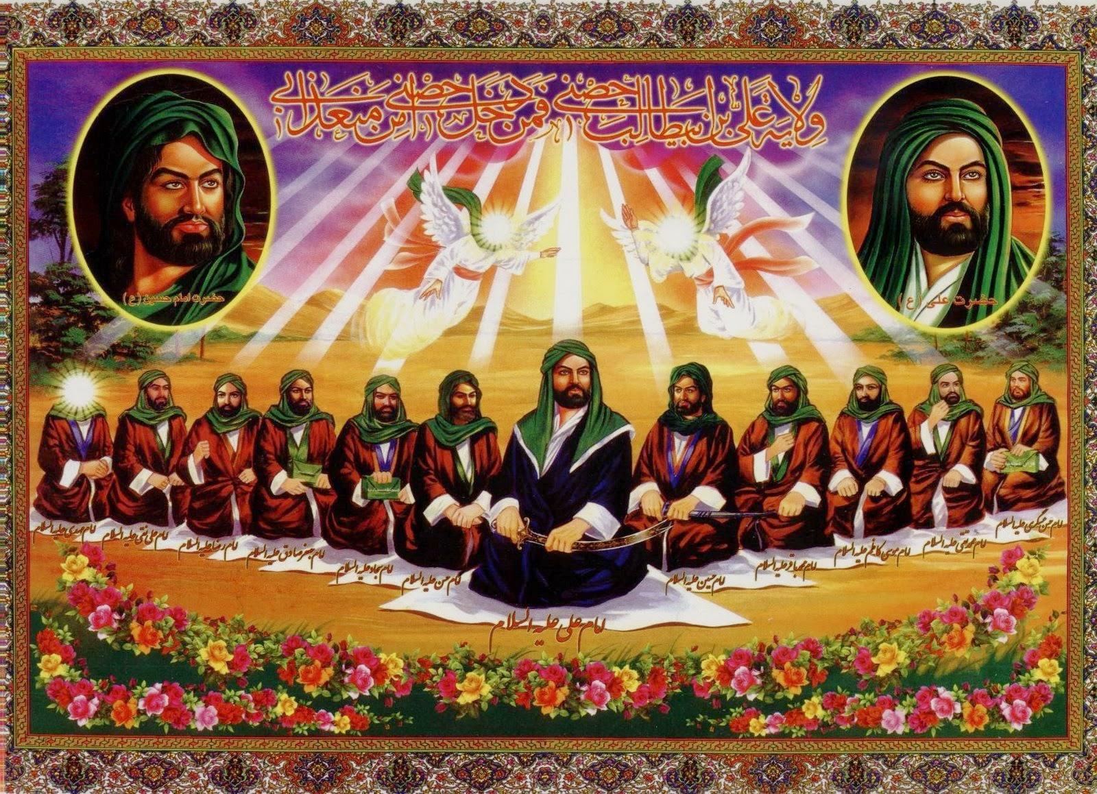 Husain Nikah Putri Yazdjird Turunan Kisra