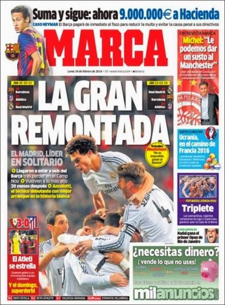 Real Madrid amanece como Líder solitario